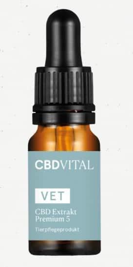 VET CBD 5 Extrakt Premium
